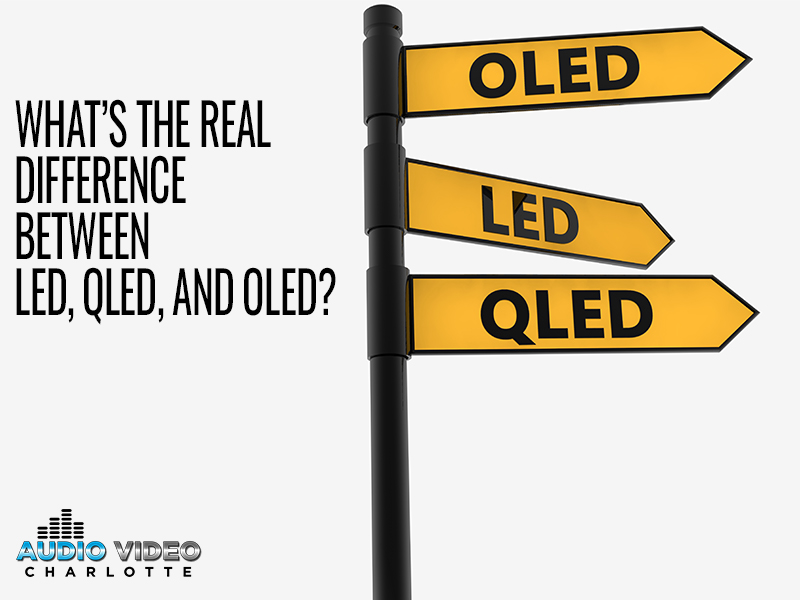What's the Real Difference Between LED, QLED, and OLED?