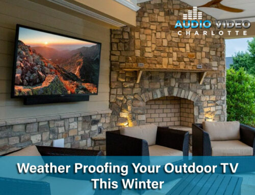 Weather Proofing Your Outdoor TV This Winter