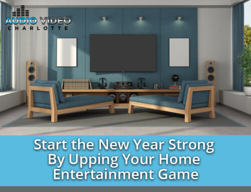 Start the New Year Strong By Upping Your Home Entertainment Game