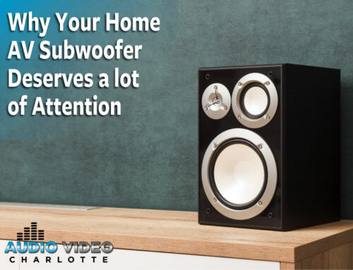 Why Your Home AV Subwoofer Deserves a Lot of Attention