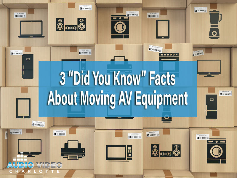 Moving Electronic Equipment Safely