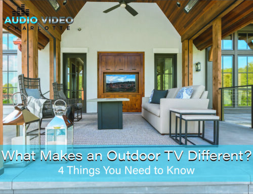 What Makes an Outdoor TV Different? 4 Things You Need to Know